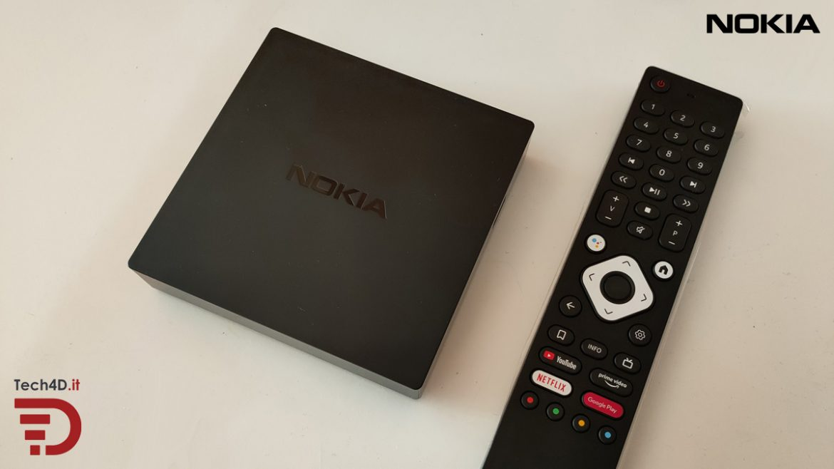 recensione nokia streaming box 8000