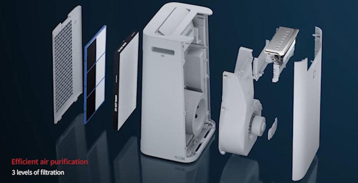 Sharp lancia un purificatore d'aria che uccide il coronavirus al 90%