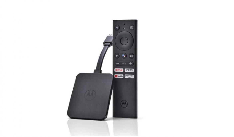 Android TV Stick Motorola 4K