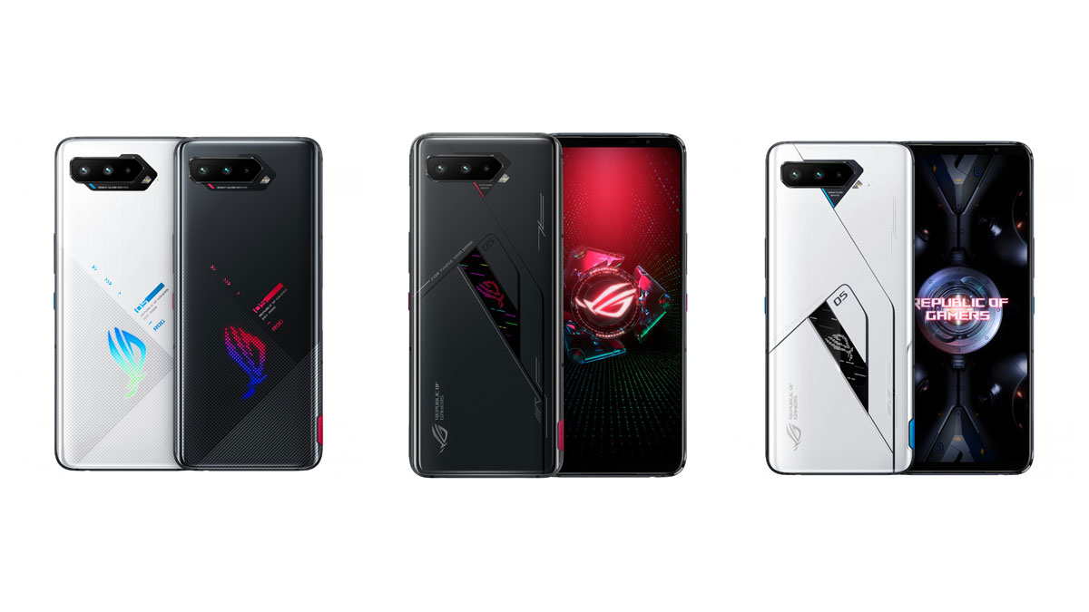 asus rog phone 5, 5 pro e 5 ultimate