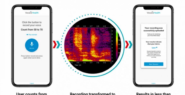 VocalisCheck AI Covid-19 nella voce