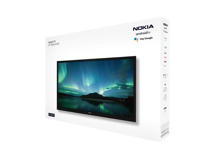 """nokia smart tv android tv 11 24"""" confezione"""
