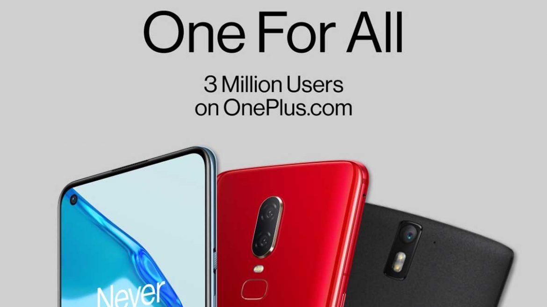oneplus 3 milioni di utenti sconti