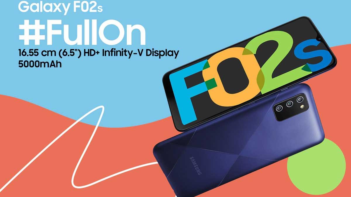 Samsung Galaxy F12 e F02s ufficiali: tanta batteria per la fascia low cost