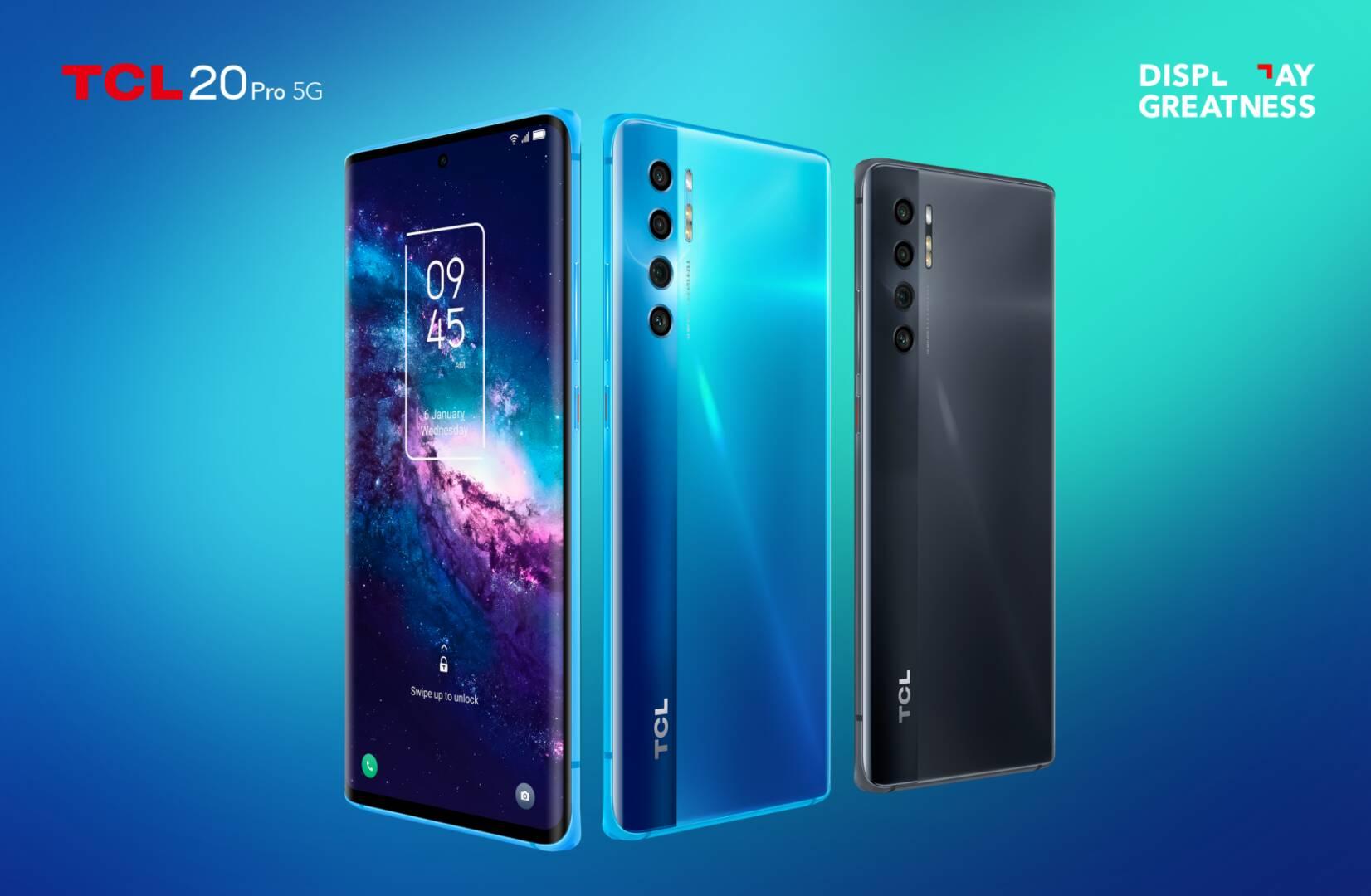 TCL annuncia il piano aggiornamenti per i suoi ultimi smartphone (serie 20)