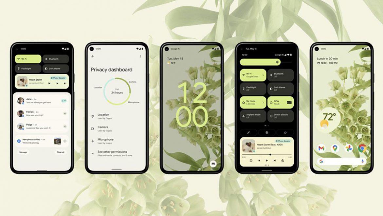android 12 interfaccia utente