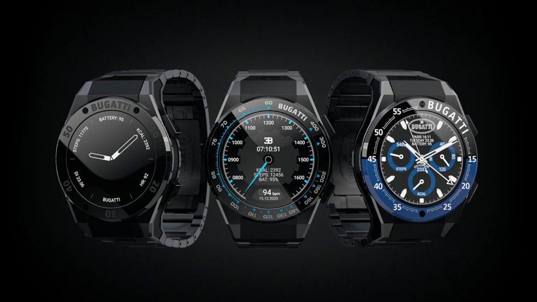 bugatti smartwatch di lusso