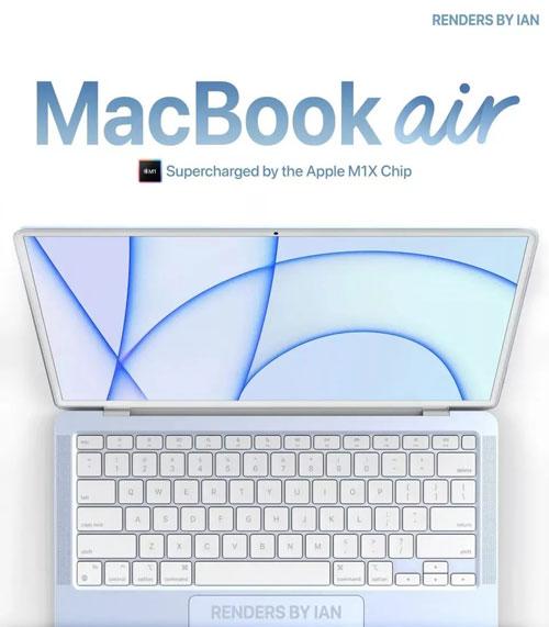 presunto render macbook air 2021