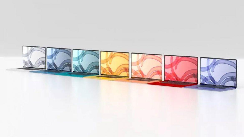 apple macbook air colorati
