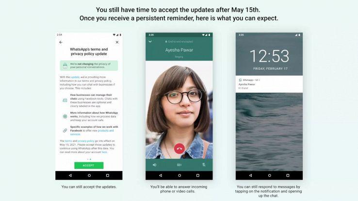 whatsapp nuova privacy 15 maggio 2021