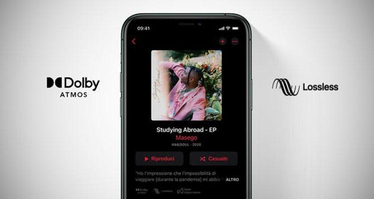 apple music audio lossless
