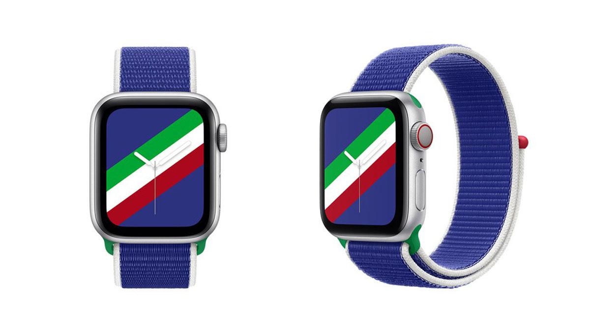 Apple Watch: arrivano i cinturini e i quadranti delle bandiere nazionali