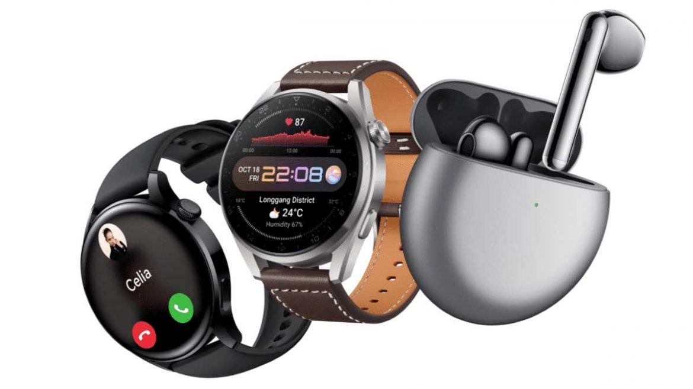 huawei watch 3 e freebuds 4