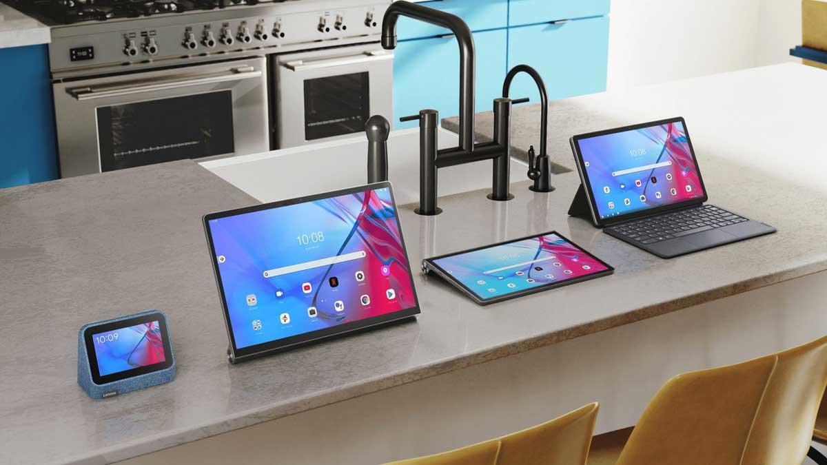 Lenovo lancia una raffica di nuovi tablet e Smart Clock 2 in Europa