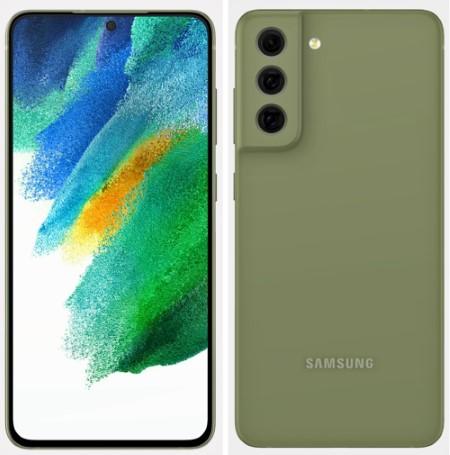 samsung galaxy s21 fe green