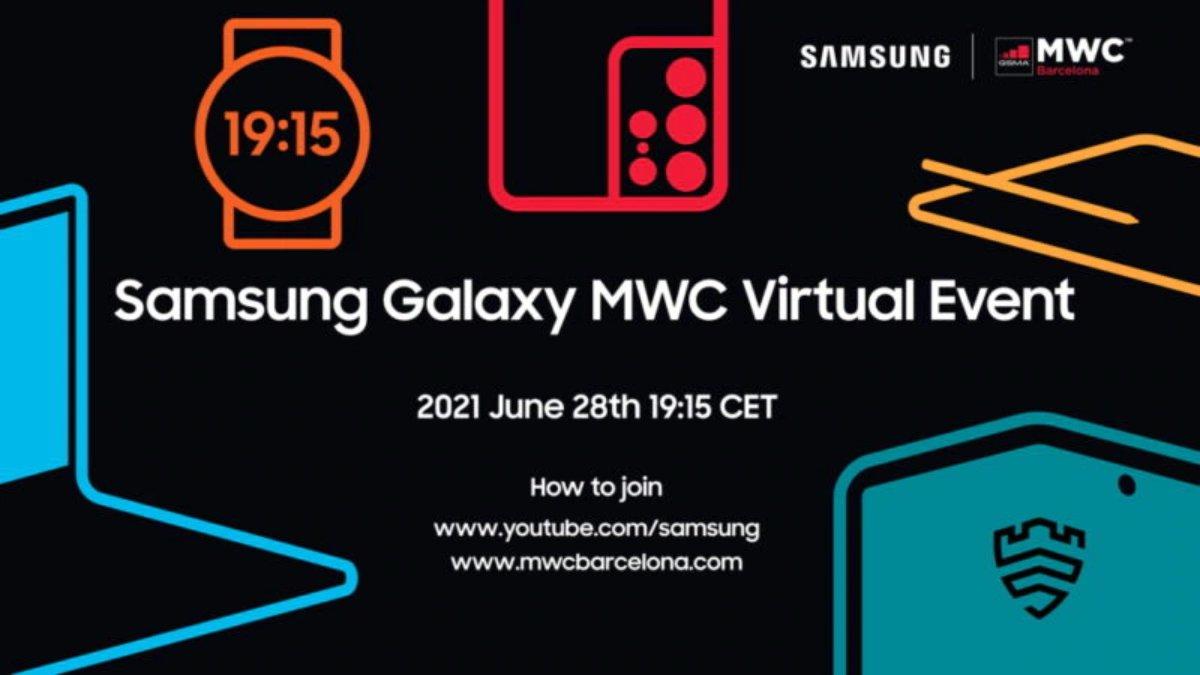 Samsung annuncia il suo evento MWC 2021 online: protagonisti i wearable