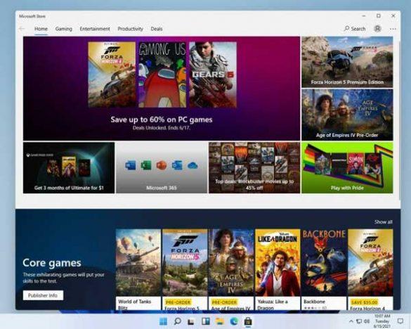 windows 11 screenshot store