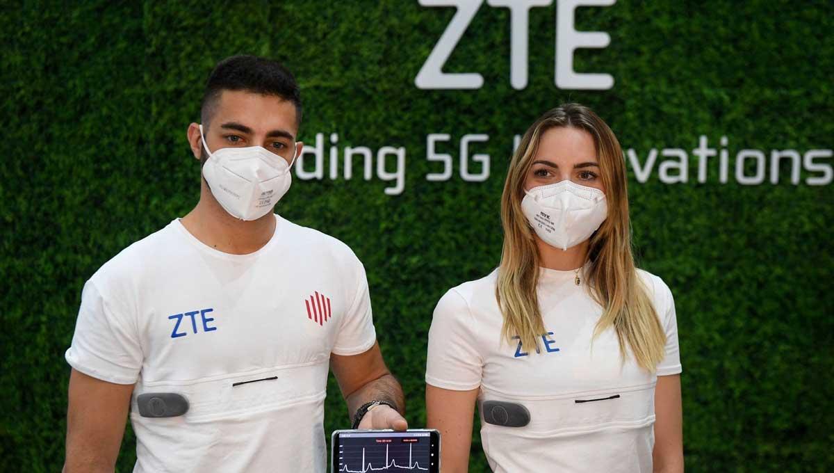 ZTE annuncia YouCare: la maglietta smart 5G che rileva i parametri vitali