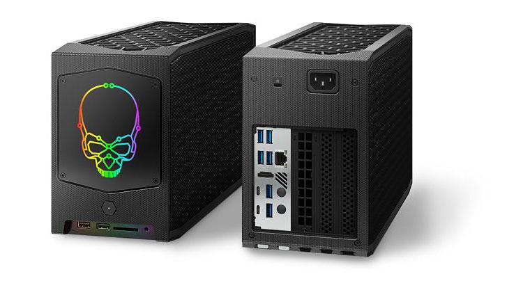 Intel NUC 11 Extreme: ufficiale il nuovo mini PC modulare per il gaming
