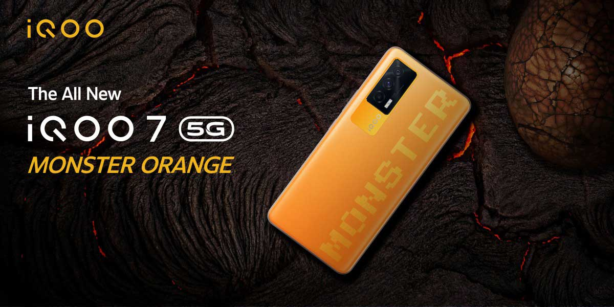 iQOO 7 5G Monster Orange è ufficiale e iQOO 8 in arrivo con Snap 888+