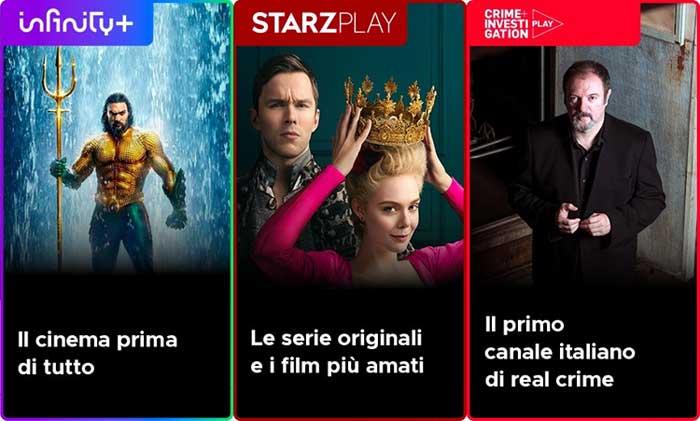 Mediaset porta i canali tematici su Infinity: ecco quali sono e i prezzi