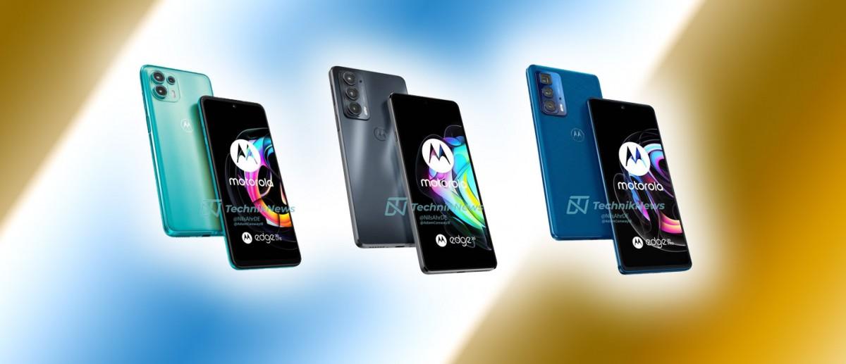 Motorola Edge 20, 20 Pro e 20 Lite in uscita il 5 Agosto: ecco le immagini