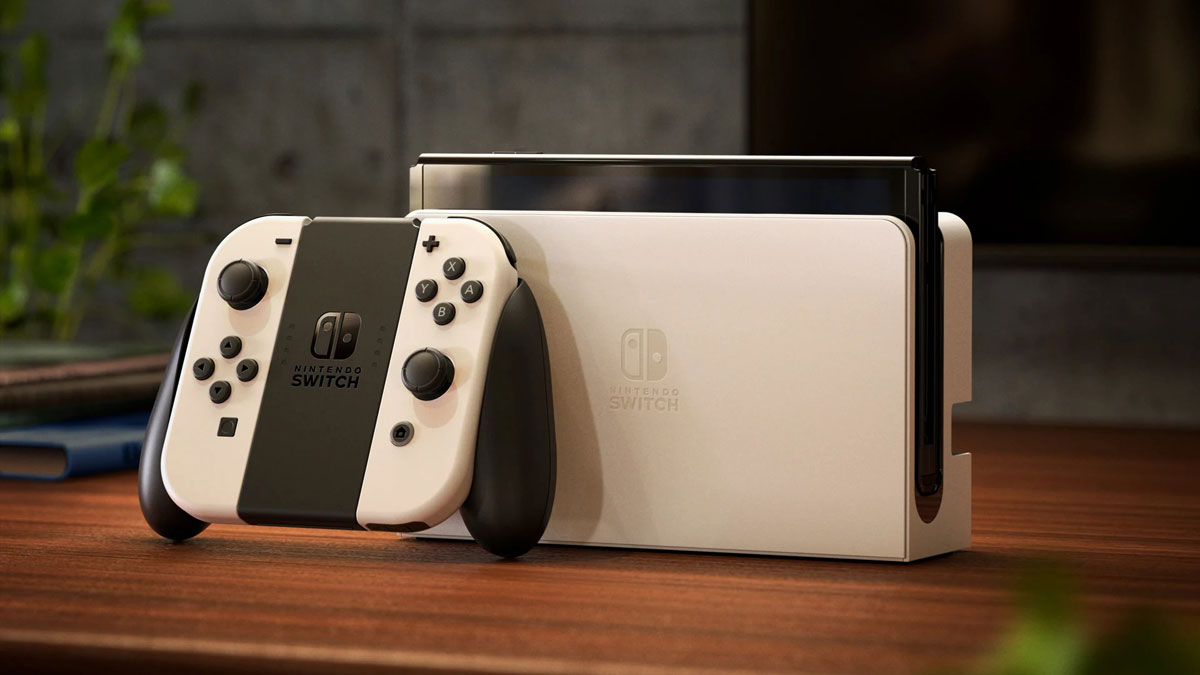 Nintendo Switch OLED non cambia sul fronte CPU e RAM: ora è ufficiale