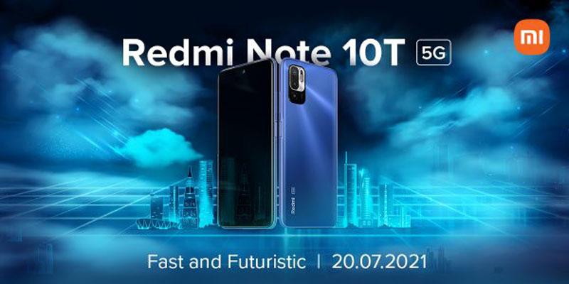 Redmi Note 10T 5G in uscita il 20 luglio, e ora il caricatore Xiaomi da 67W