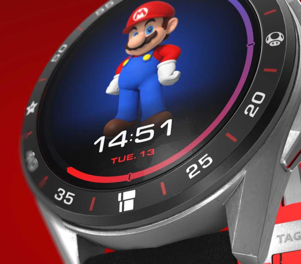 TAG Heuer ha lanciato lo smartwatch di Super Mario: ha anche Wear OS