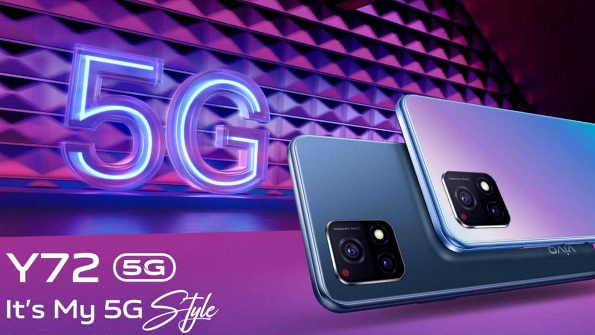 Un nuovo Vivo Y72 5G è ufficiale, ma del tutto diverso dal precedente