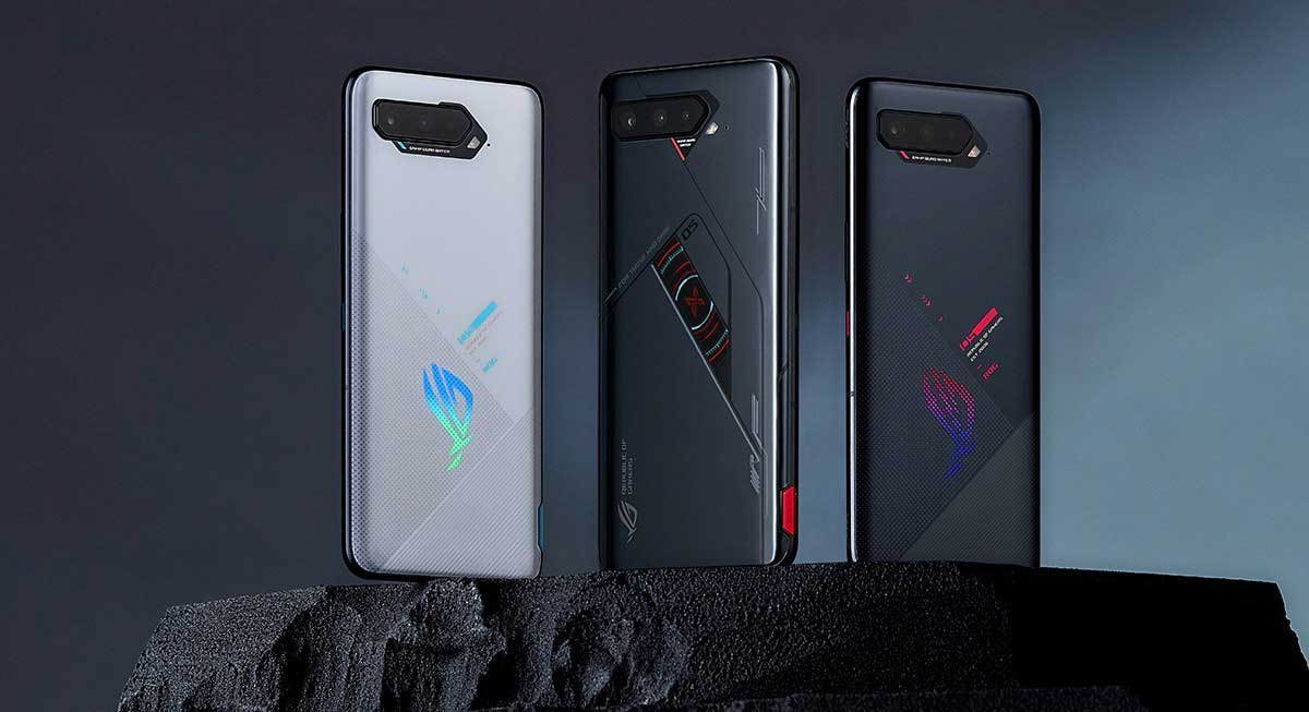 Asus ROG Phone 5s e 5s Pro ufficiali: Snapdragon 888+ e touch a 360 Hz