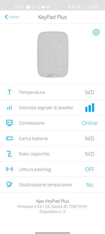 ajax systems app