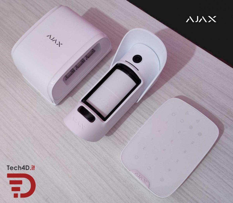ajax systems sistema di sicurezza esterno