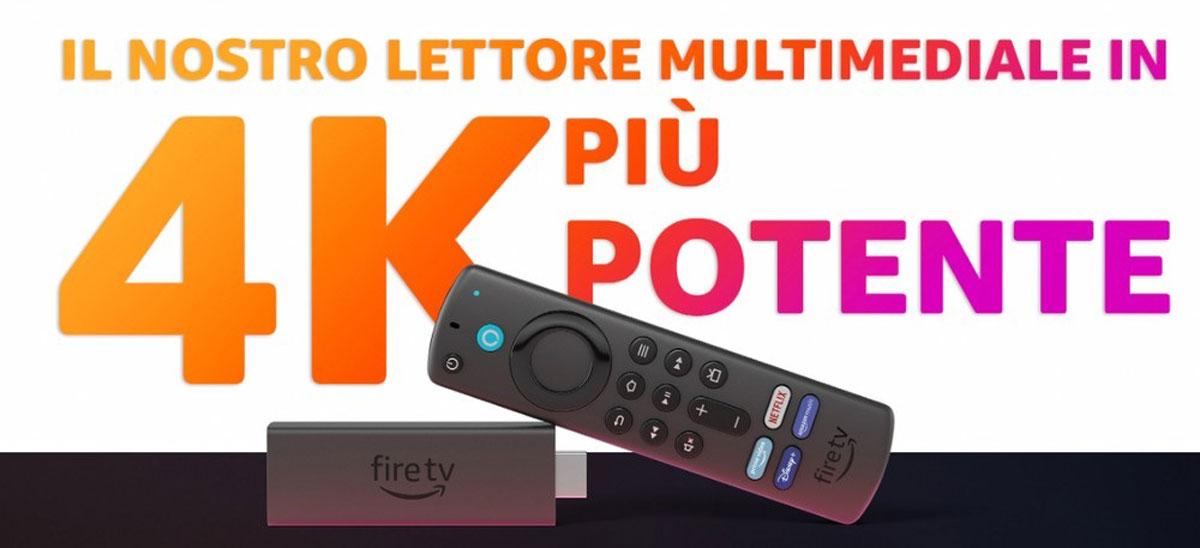 Amazon Fire TV 4K Max arriva in Italia: mai tanta potenza (e con Wi-Fi 6)