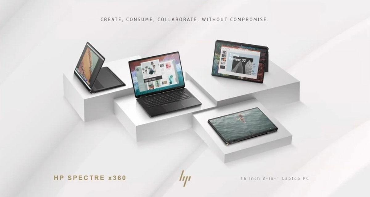 HP Spectre x360 16, 14 Laptop e 11 Tablet sono ufficiali con Windows 11