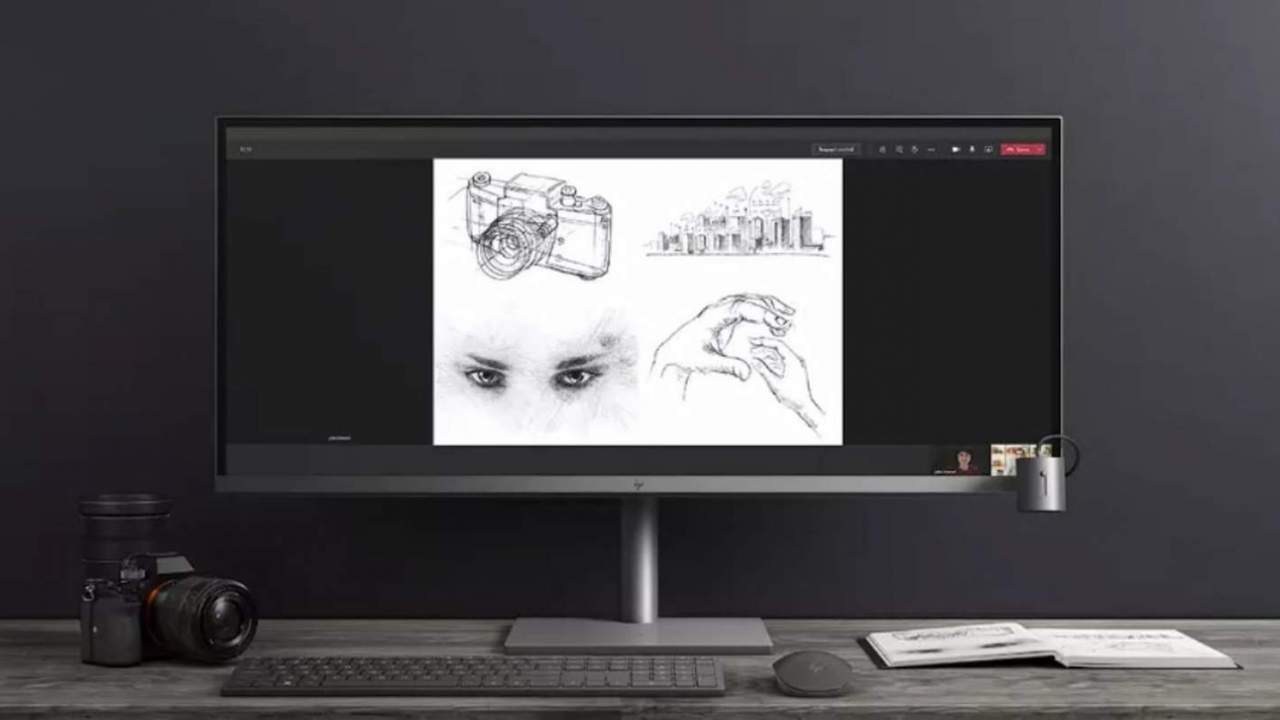 HP lancia 3 nuovi PC All-in-One con Windows 11 e 2 monitor