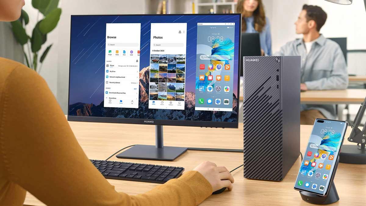 Huawei lancia il suo primo PC desktop, un AiO, 2 laptop e una stampante