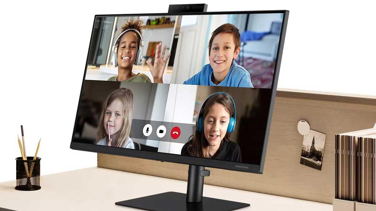 Samsung presenta Webcam Monitor S4 per le conferenze: in Italia a 289€