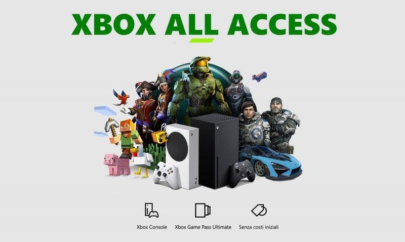 """Xbox All Access è disponibile in Italia: console + Game Pass """"a rate"""""""